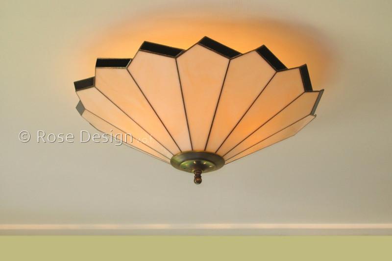 Acanthus 50 cm. plafonnière, een Rose design lamp.