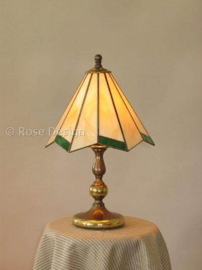 Acanthus 22 cm. een Rose Design Tiffany tafellamp.